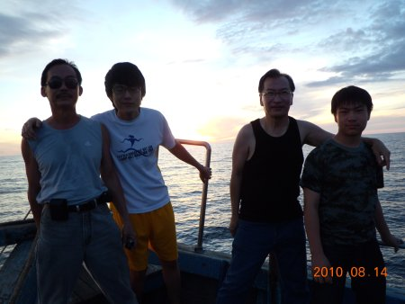 Singapore anglers in Sabah