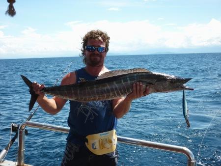 Australian angler in Sabah