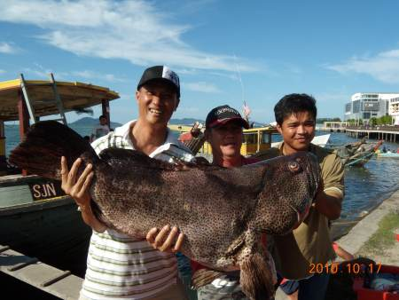 KL anglers in Sabah