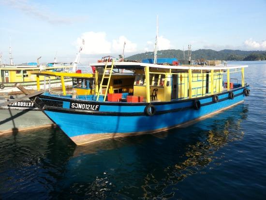 7 Star 2 Fishing Boat Sabah