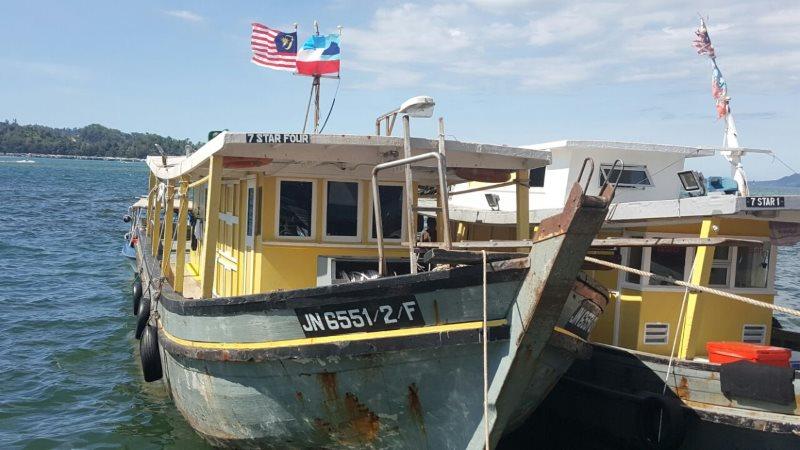 7 Star Fishing Boat 4 Sabah