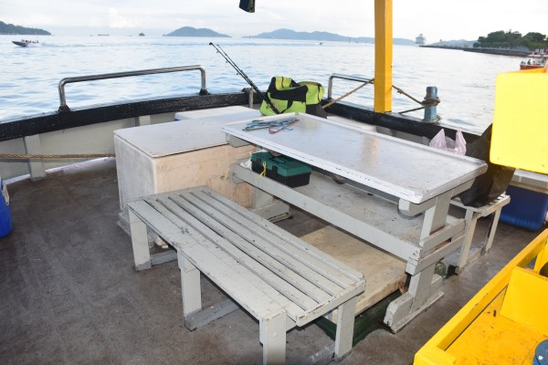 7 Star 1 Fishing Boat Stern Deck